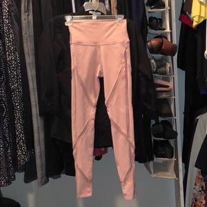 AOL pink leggings